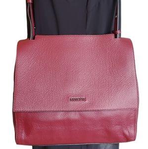 Musette Romania berry maroon shoulder bag